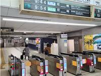 アクセス|東生駒駅改札
